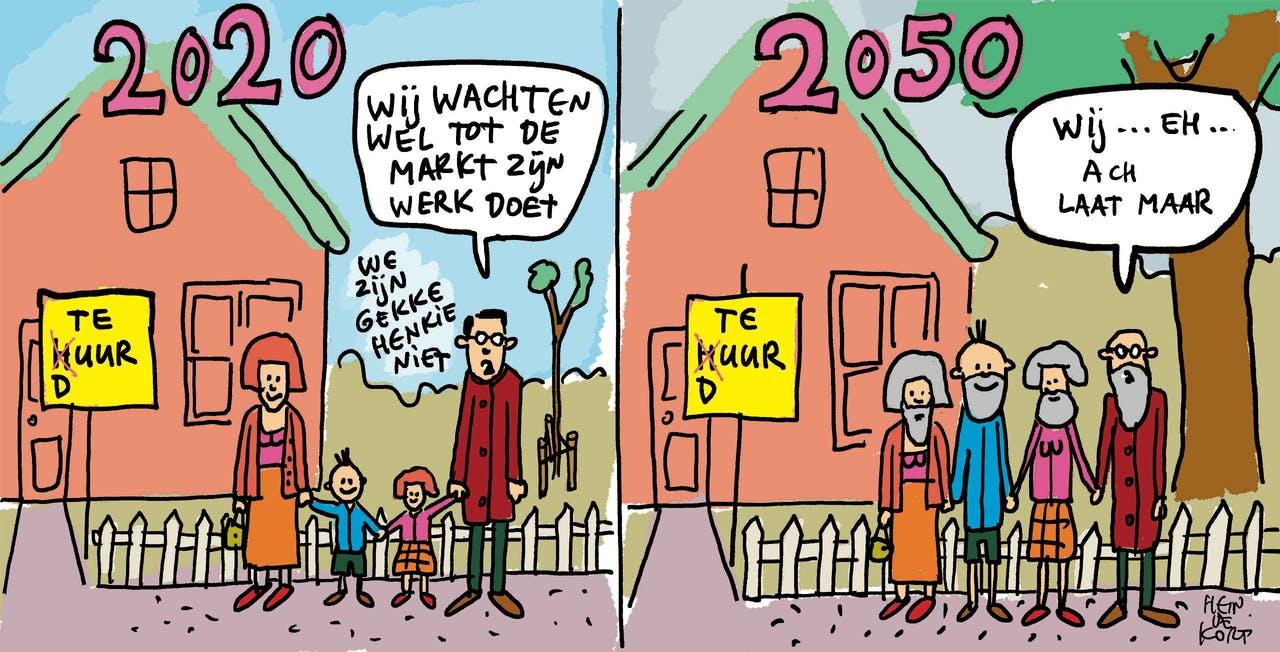 De overheid herneemt zijn sturende rol op de woningmarkt